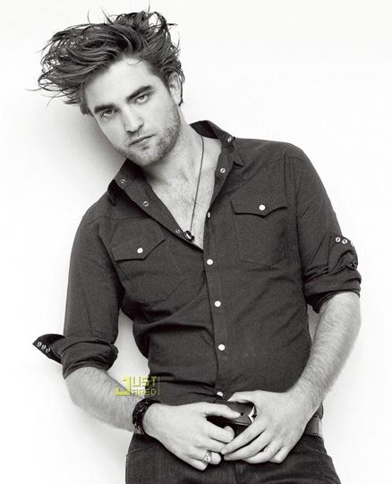 Robert Pattinson en Revista GQ