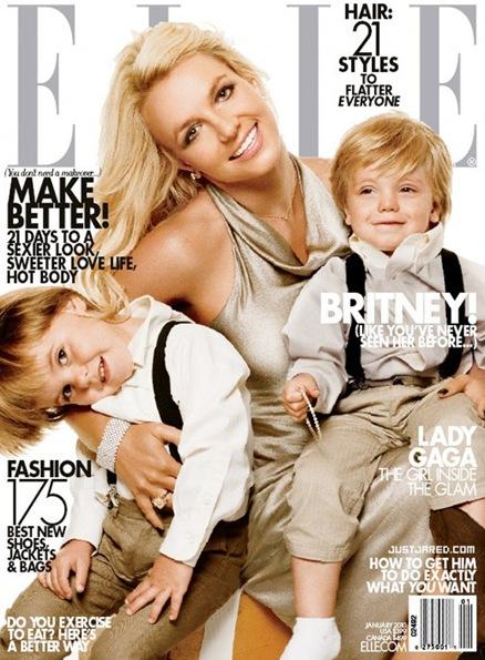 Britney Spears en ELLE de Enero