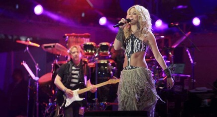 Shakira en la Inauguración del Mundial de Sudáfrica 2010