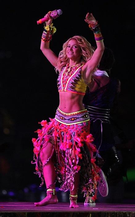 Shakira en la Clausura