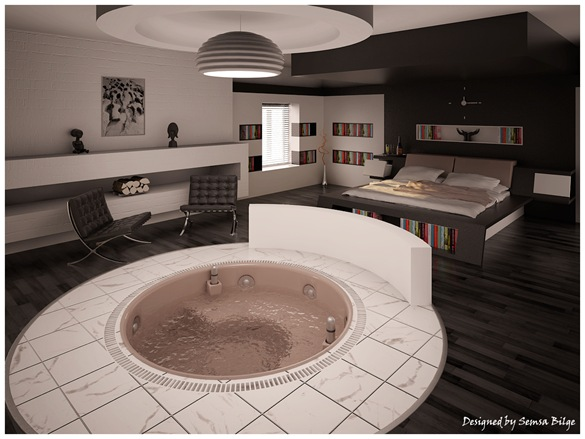 bedroom-with-tub
