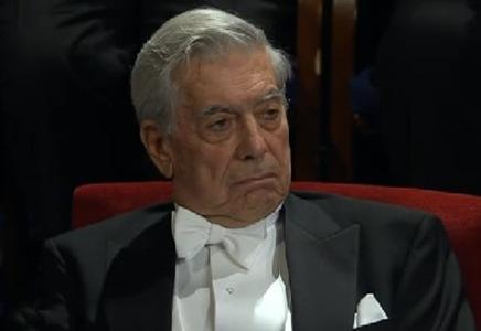 Entrega del Premio Nobel de Literatura a Vargas Llosa