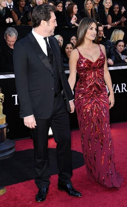 Bardem y Penelope en los Oscar 2011-2
