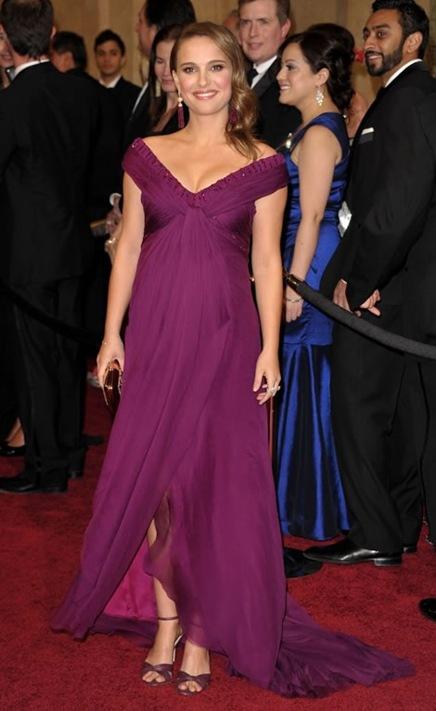 Natalie Portman en los Premios Oscar 2011
