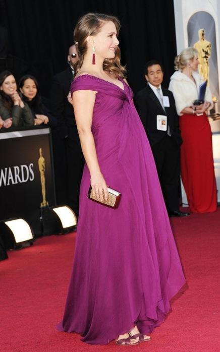 Natalie Portman en los Premios Oscar 2011 - 2