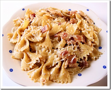 garlic-chicken-farfalle