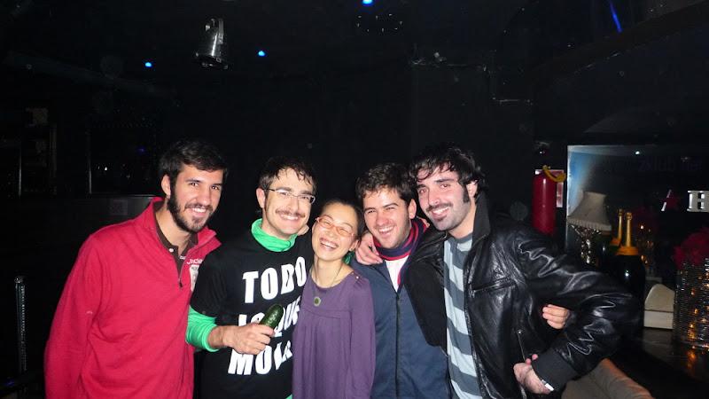 Carlos Vidal, Juanfran y Chema