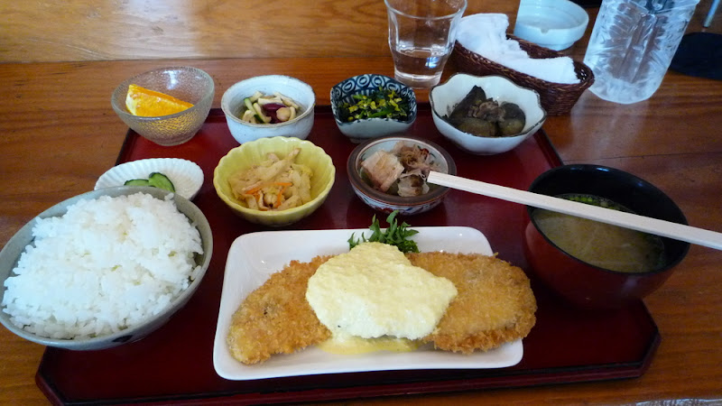 pescado, 魚, サンマ, 白身フライ, fish, deep-fried, empanado, salsa tártara, sanma, タルタルソース, tartare sauce, Savatei, 鯖亭