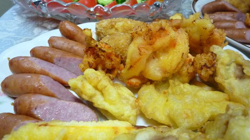 comida casera, 家庭料理, home cooking, tenpura, tempura, 天ぷら