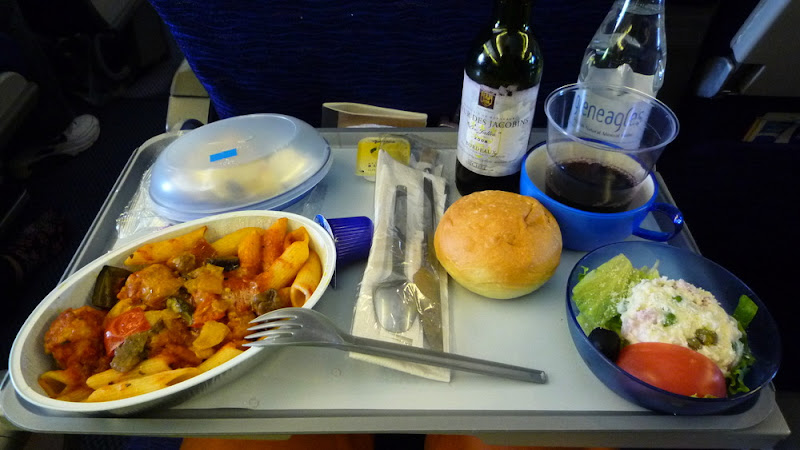 BA, British Ariways, avión, plane, 飛行機, comida, food, ご飯