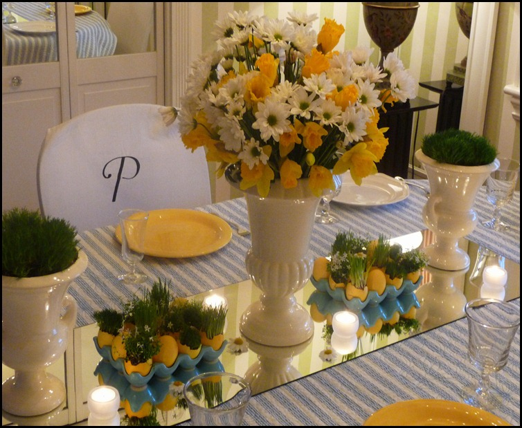 Easter table 2010 003