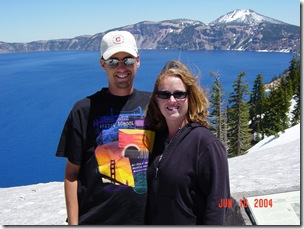 Us at Crater Lake