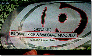 wakame noodles