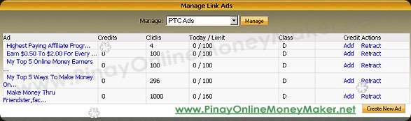PTCManagePTCAds