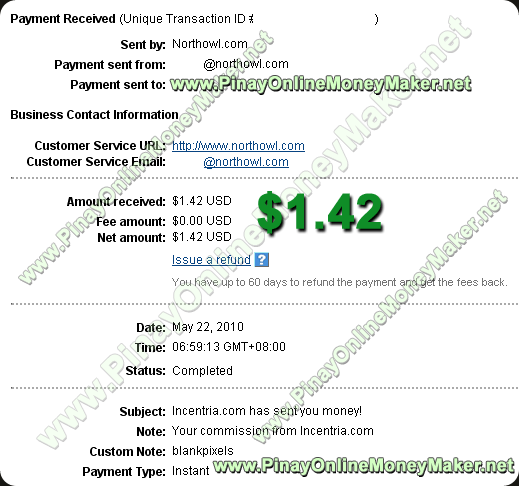 Incentria payment proof 5.22.2010