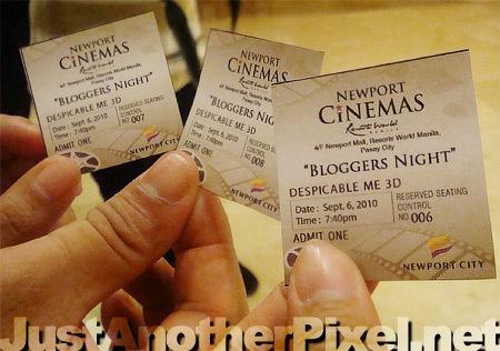 Newport Cinemas Bloggers Night Screening Tickets - JustAnotherPixel.net