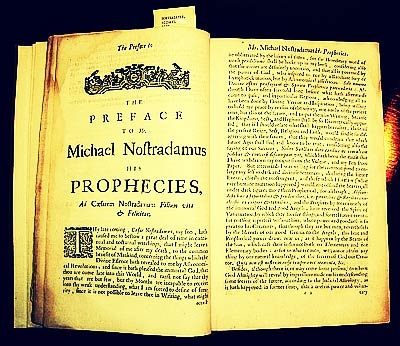 Book about the prophecies of Nostradamus - JustAnotherPixel.net