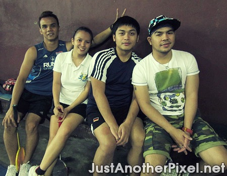 My bro with Louie, Osang and Jhay - JustAnotherPixel.net