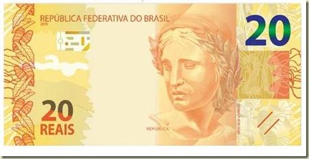 Nova cedula de 20 reais