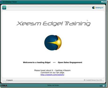 Xeesm Edge Trainning 01