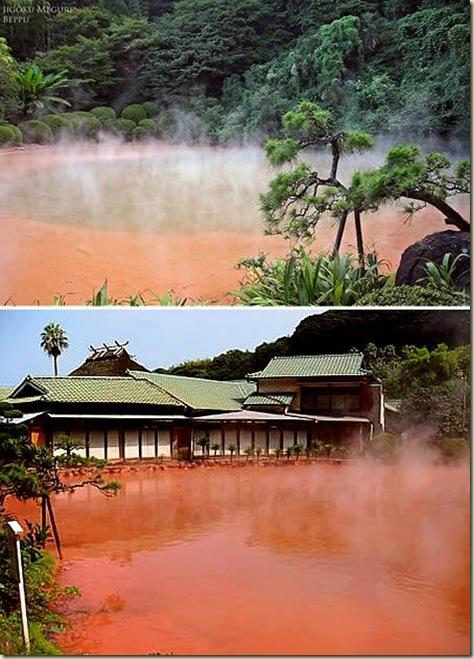 Paisagens 08 Corrego do Sangue Quente Japão