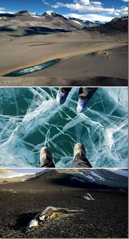 Paisagens 02 Vales na Antartida