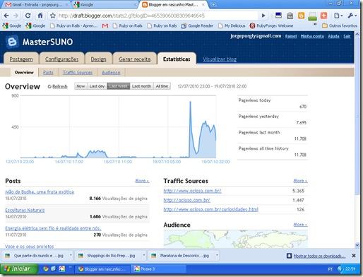810 visitas on line