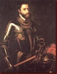 ca 44 Rei de Espanha Carlos V