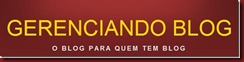 Gerenciando Blog Logotipo grande