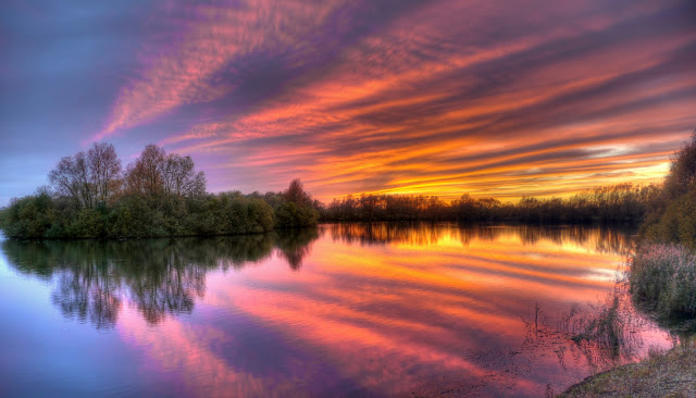 St Ives Lakes sunset.jpg