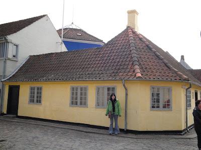 La casa original por fuera
