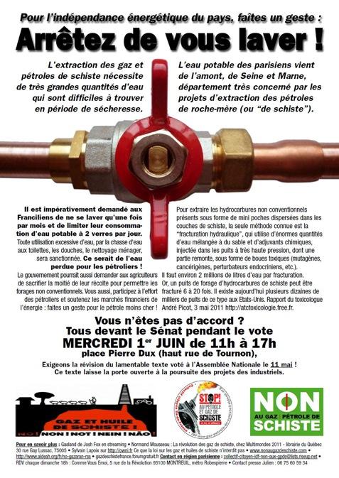 protestacion del nòrd 2 gas de sistre