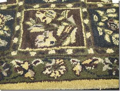 Close up of Area Rug