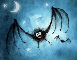merlo di halloween