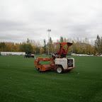 Строительство футбольного поля на стадионе СДЮШОР по футболу А.Смертина