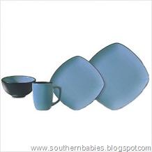 Hearthstone 16-Piece Dinnerware Set in Bluetopia