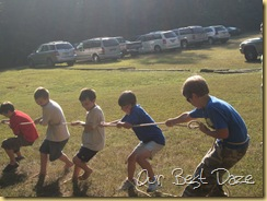 boys tug of war