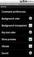 Screenshot of Xantus Keyboard