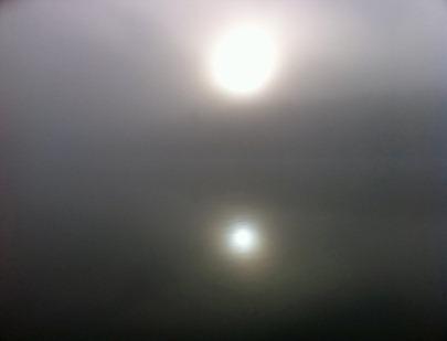 Dimma på sjön
