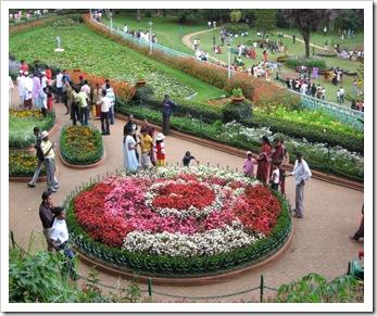 Ooty botanical garden italian garden 3