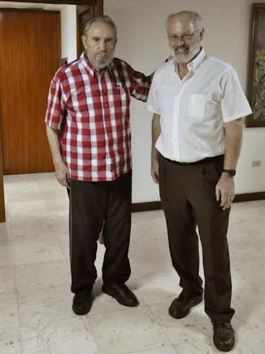 Fidel Castro presente en conferencia de profesor estadounidense Alan Robock