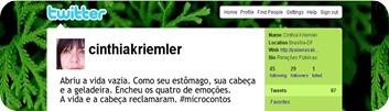 Microcontos Cinthia 1