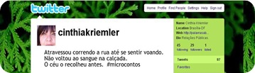 Microcontos Cinthia 2