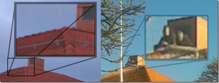 jämförelser på taket