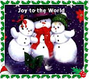 نقاشی کودک  آدم برفی      snow man    snow woman snow women     child - kid  painting Joy to the world