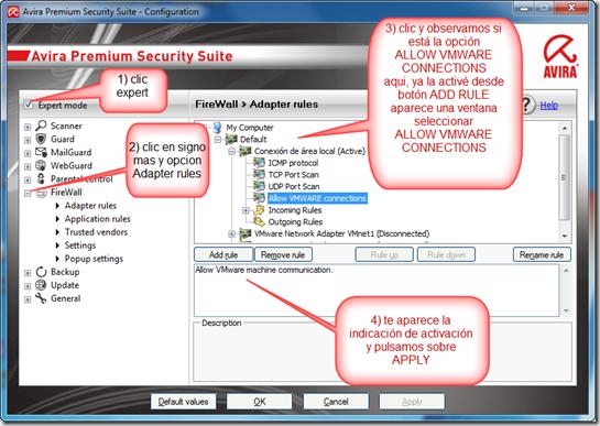 activar conecciones red AVIRA-www.2012-robi.blogspot.com.