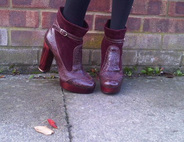 Story of Maria's Boots Street Style