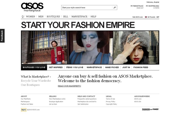 ASOS Marketplace Launches!