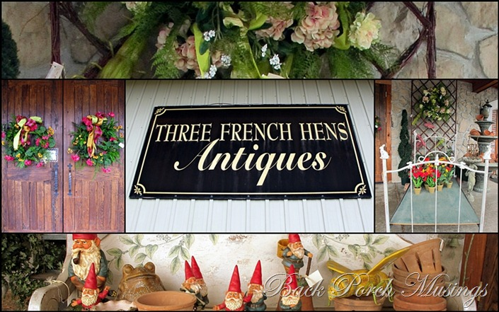 Three French HensA