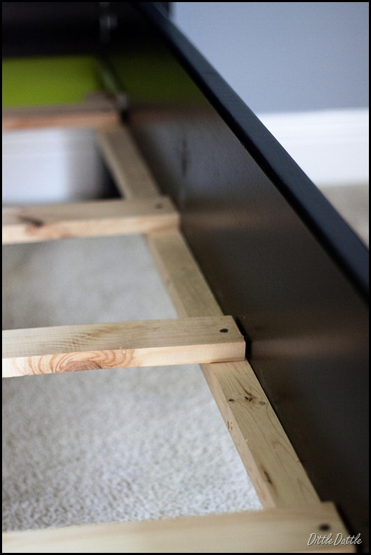 PB Inspired Bed Frame Assembly
